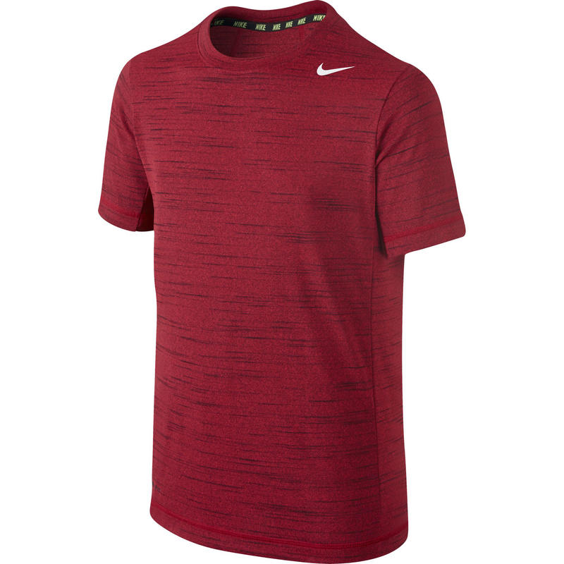 Maillot Dri-FIT Touch Rouge Gym chiné