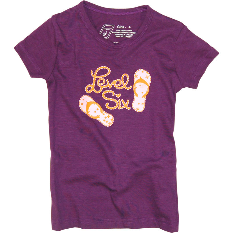 Flip Flops Tee Grape Juice