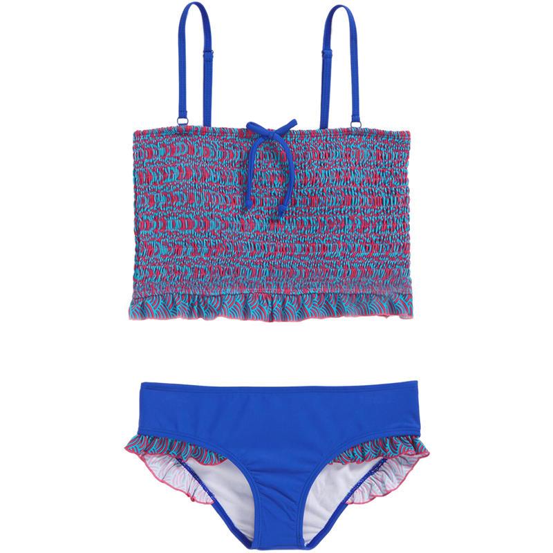 Santorini Two-Piece Swimsuit Multicolour Print