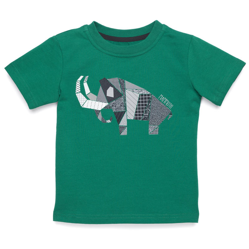Tyler Short-Sleeved Tee Ultramarine Green Grey Mammoth