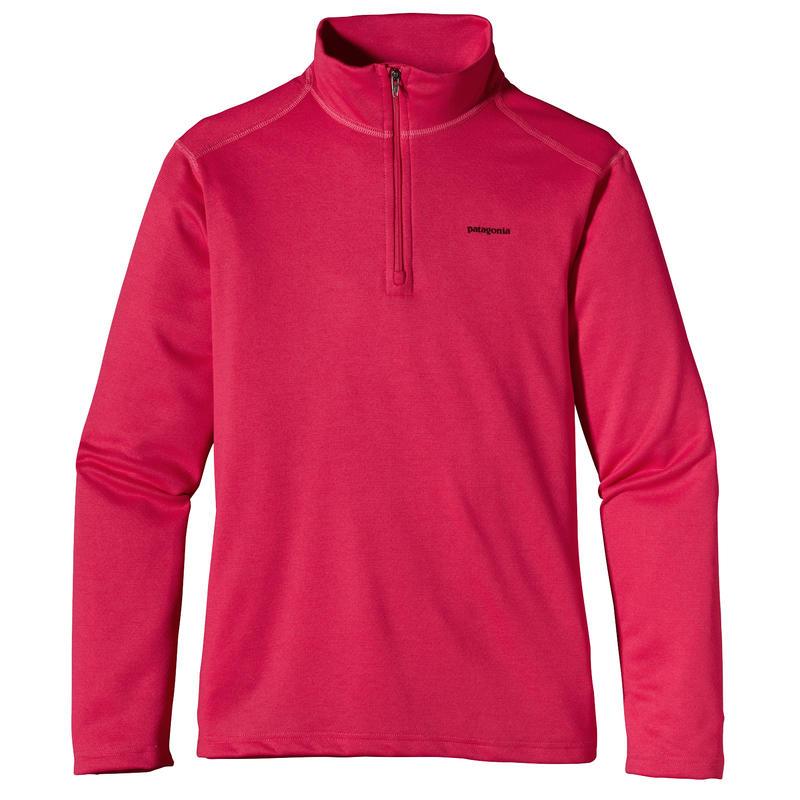 Capilene 3 Underwear Zip-T 2 Rossi Pink
