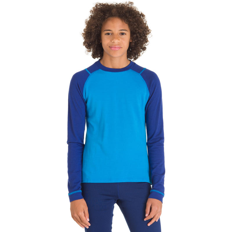 Merino Long Sleeve Crew Regatta/Indigo