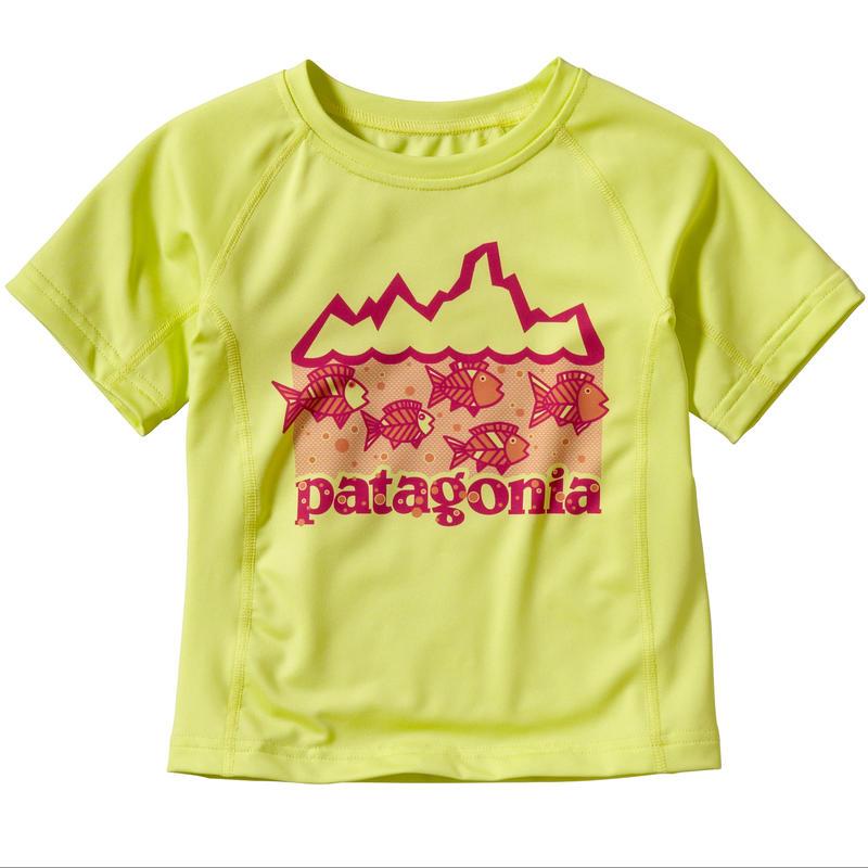 T-shirt Capilene 1 Silkweight Jaune maya