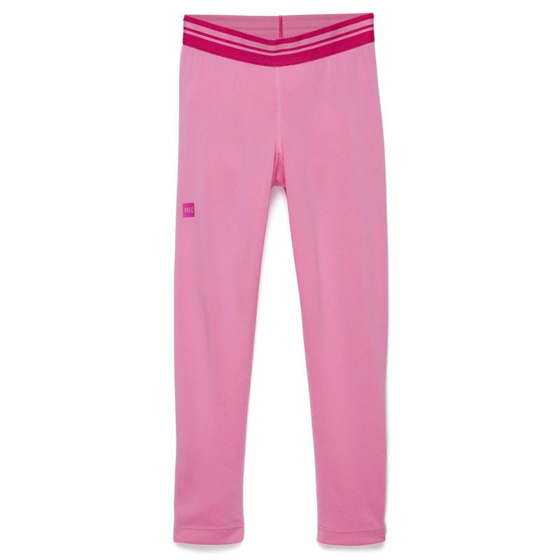 Midweight Underwear Long Johns Pink Parfait