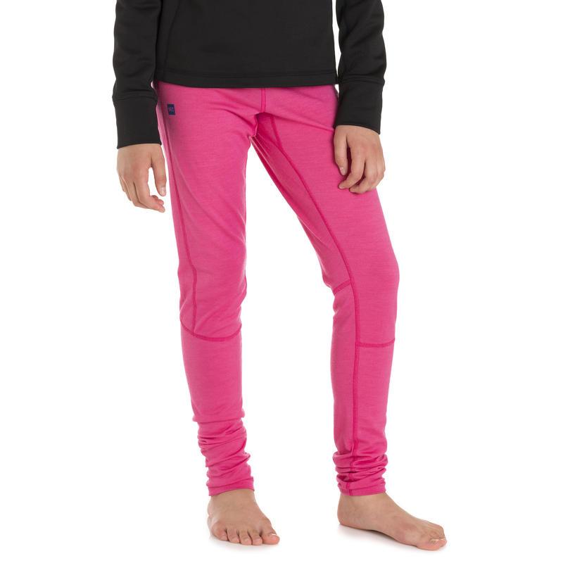 Merino Long Johns Mega Pink