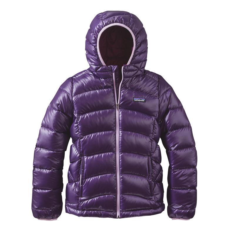 Manteau en duvet Hi-Loft pour filles Pourpre panthère
