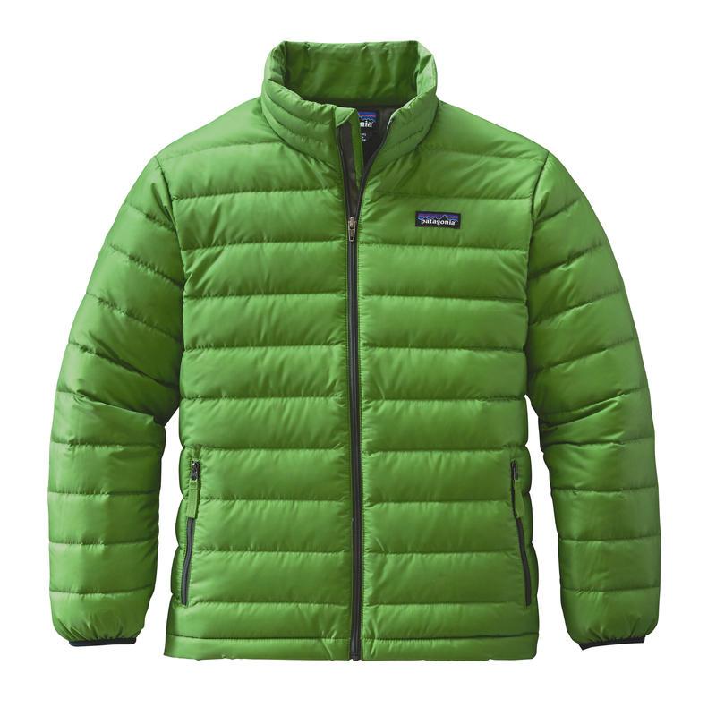 Down Sweater Hydro Green