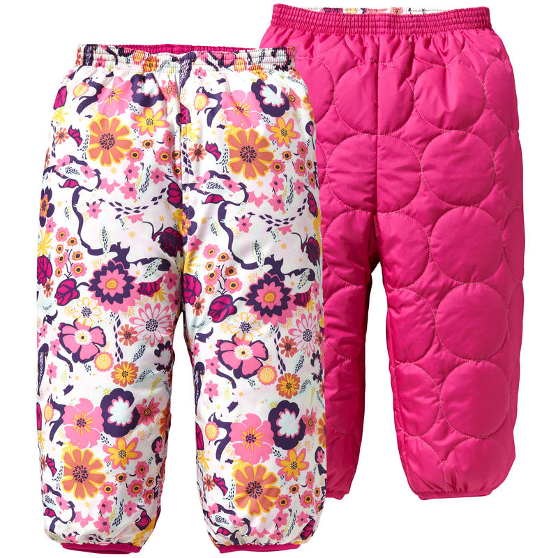 Pantalon Puffball 3 Rose Rosy Posy/Imprimé Birds& Vines
