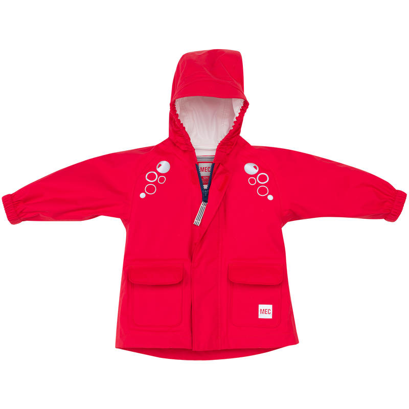Cloudburst Rain Jacket Poppy