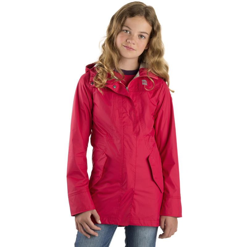 Manteau Aquanator pour filles Rouge à joues
