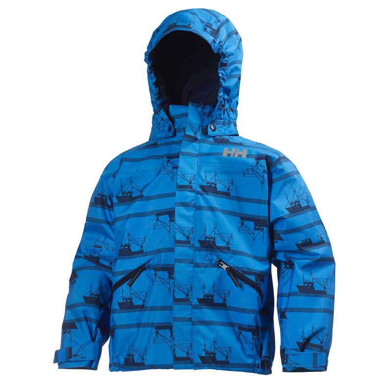 Manteau Jotun à imprimés Imprimé bleu Racer