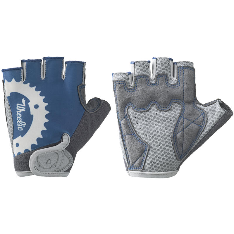 Wheelie Bike Gloves Stellar Blue