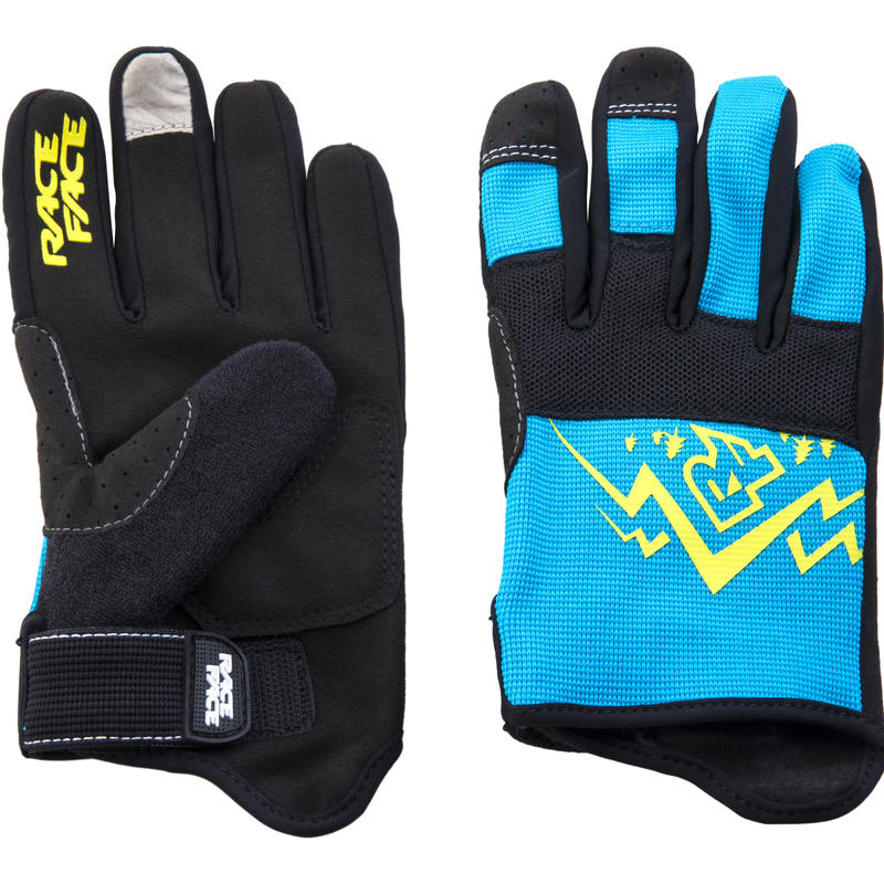 Dewey Bike Gloves Blue/Yellow