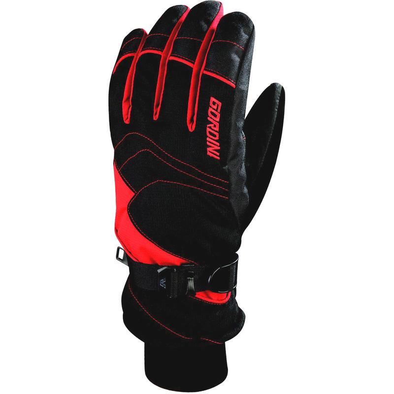 Maven Short Junior Gloves Black/Crimson