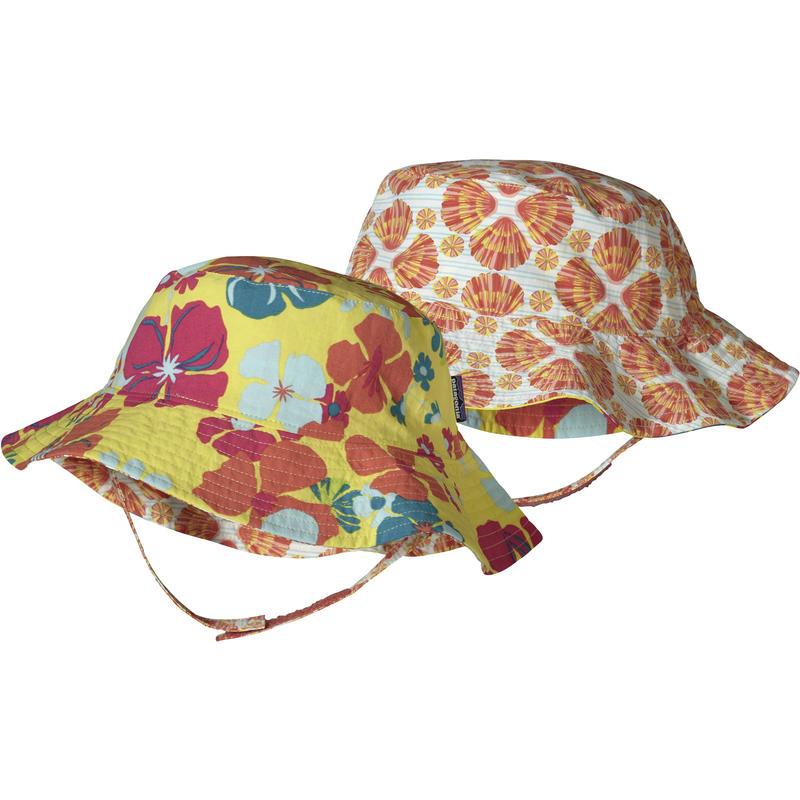 Chapeau Sun Bucket Collier hawaïen/Ananas