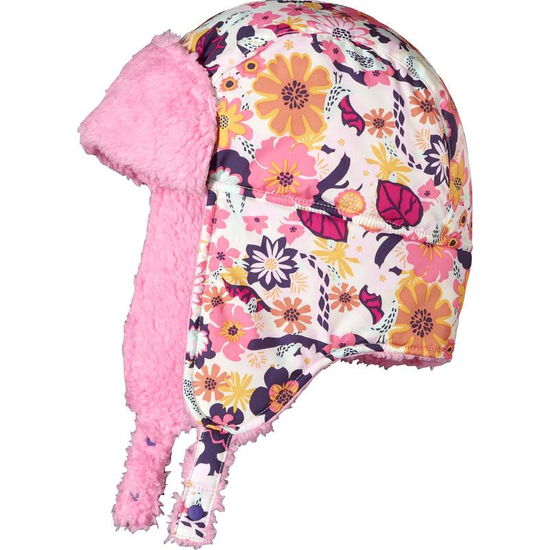 Shelled Hat Rosy Posy Pink/Birds& Vines Print