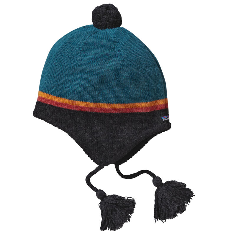 Tuque Woolly Rayures horizon/Noir