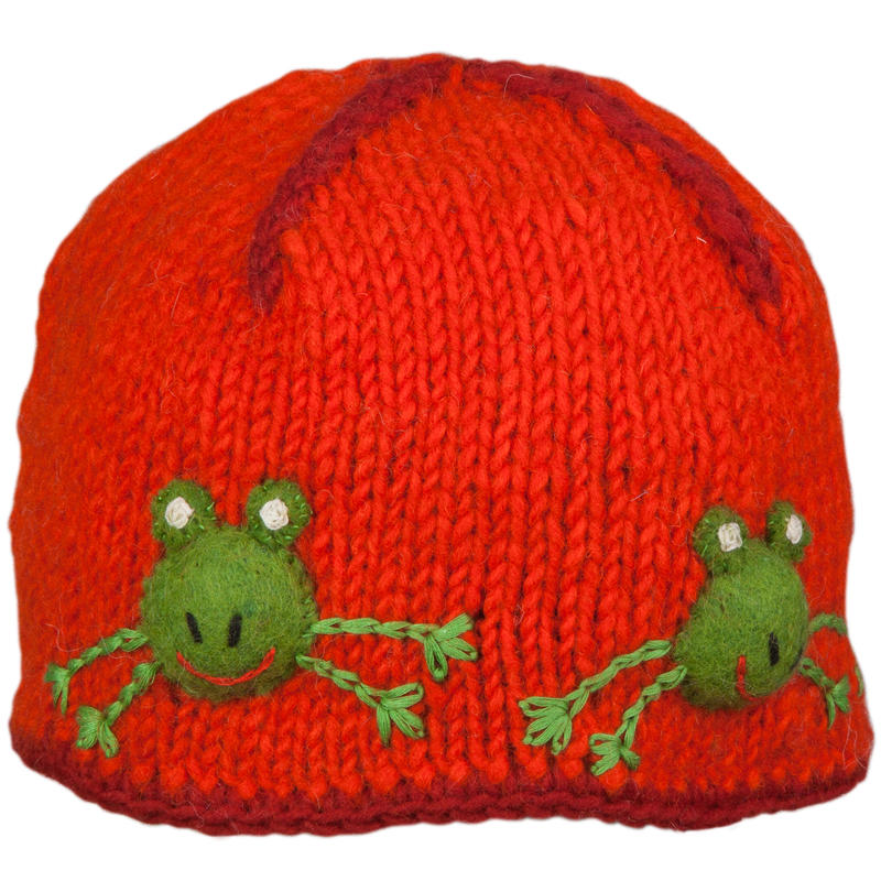 Tuque Froggie Tomate