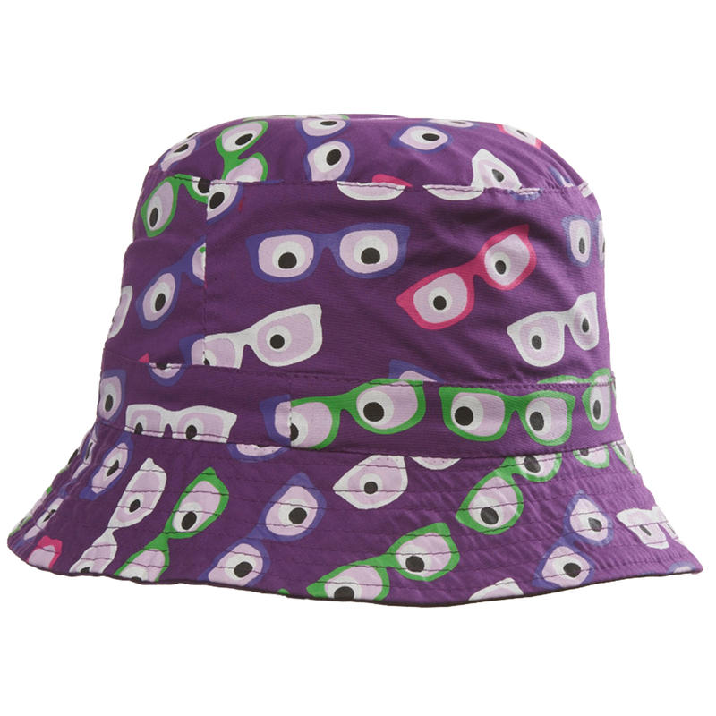 Summit Sunshower Bucket Hat Grape/Sunglasses Print