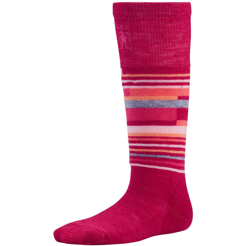 Chaussettes Wintersport Stripe Rouge perse
