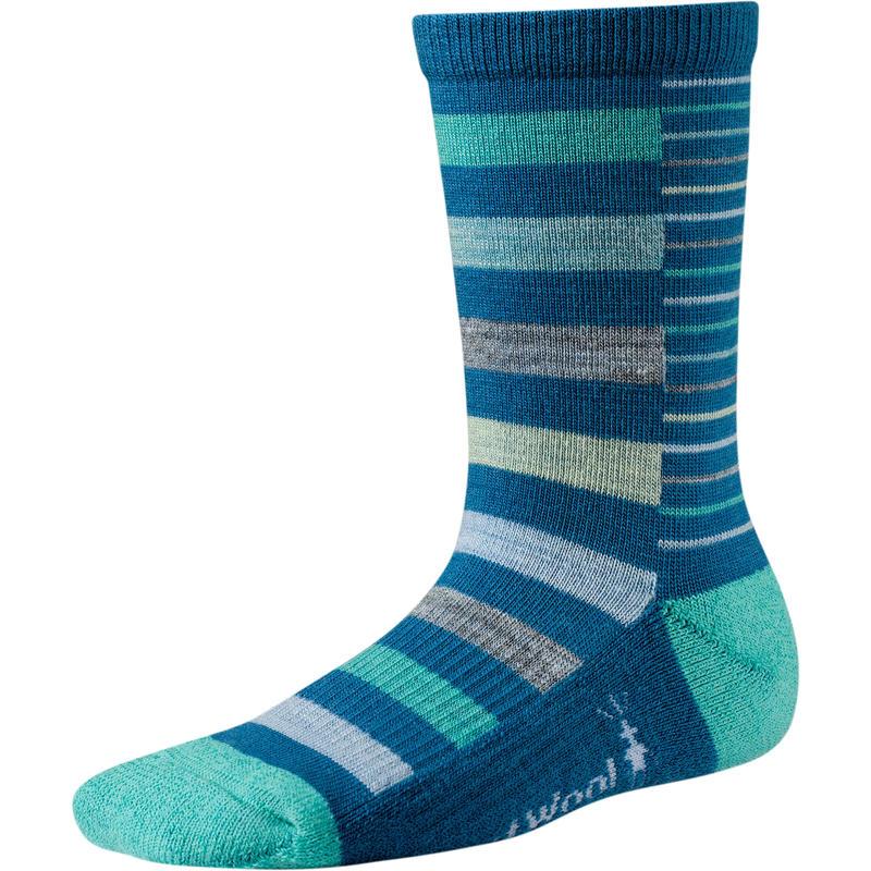 Split Stripe Socks Arctic Blue