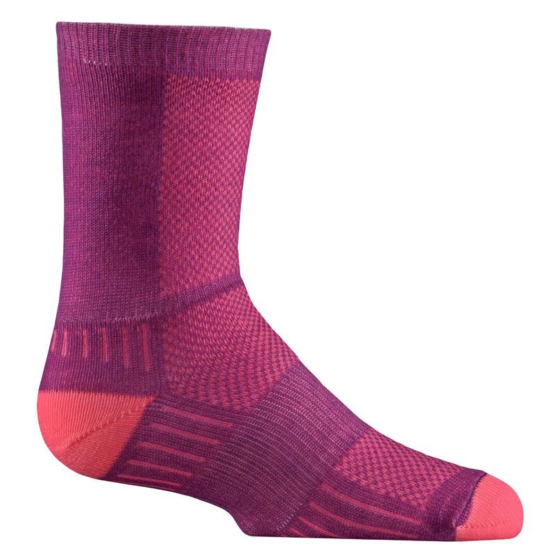 Coolmesh II Crew socks Plum/Pink