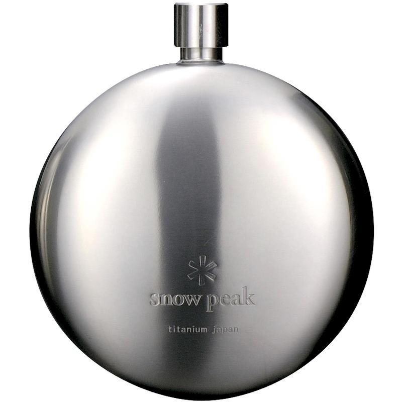 Titanium Round Flask