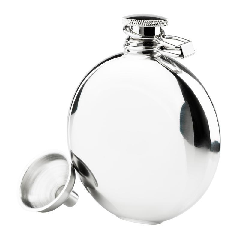 Flasque Classic en acier inoxydable 148 ml Poli