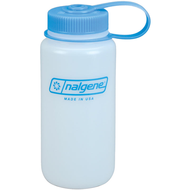 Wide-Mouth HDPE Water Bottle White