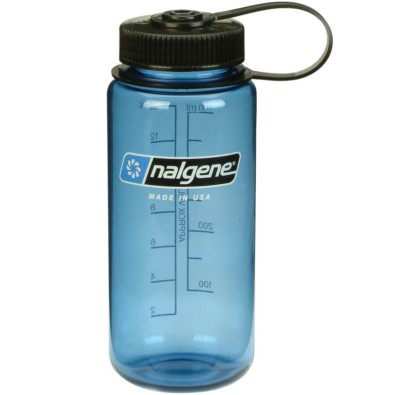 500ml Everyday Wide-Mouth Water Bottle Blue