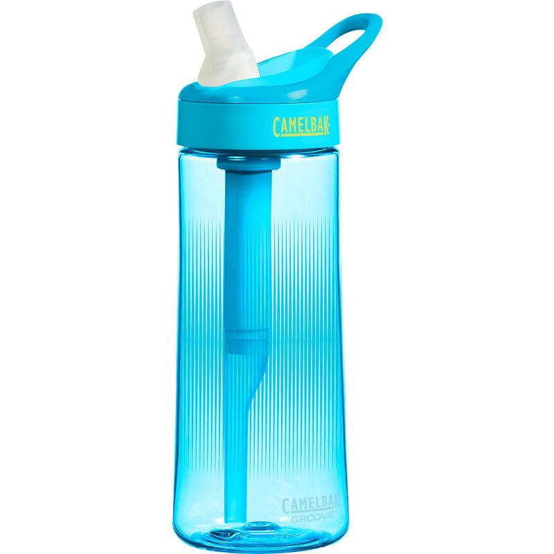 Groove Bottle .6L Aqua