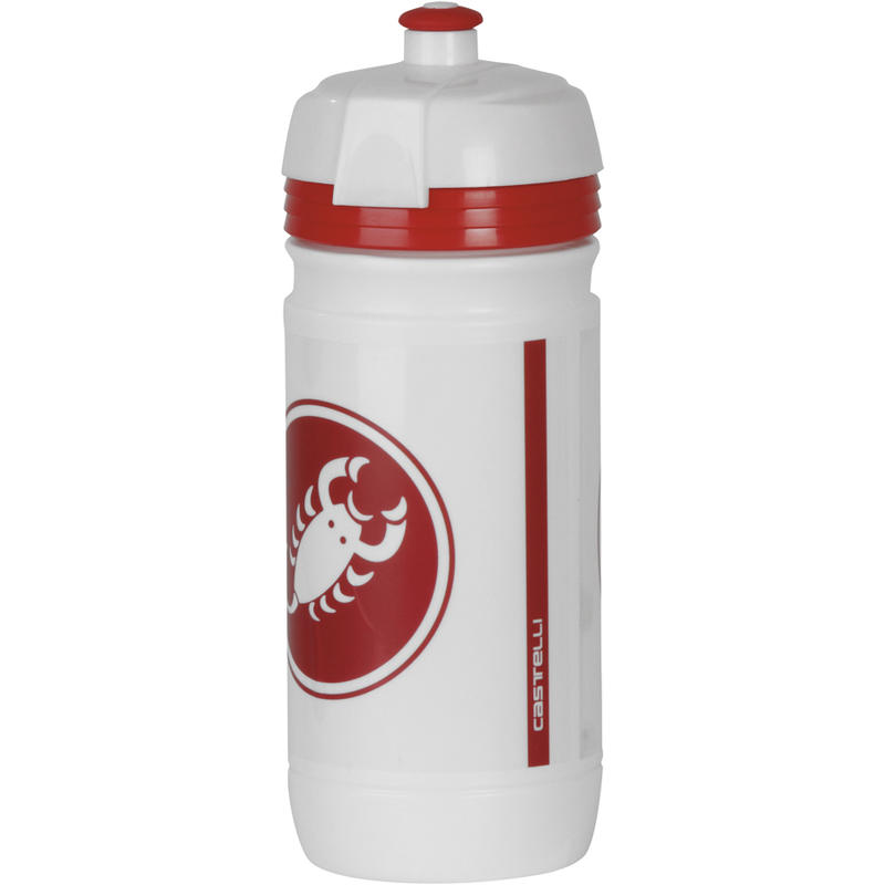 Cycling Water Bottle White/Red