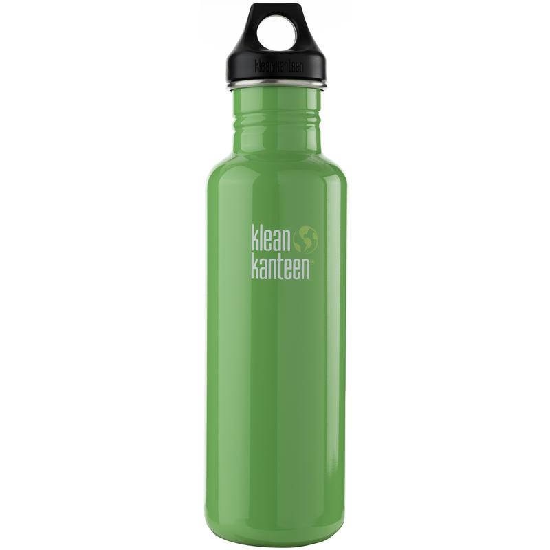 Classic Stainless Steel Bottle 800ml Organic Garden