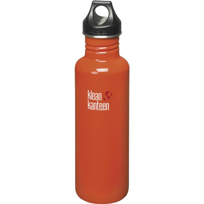 Bouteille Classic en acier inoxydable 800 ml Orange flamme