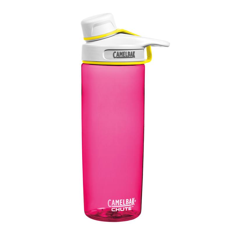 Chute Bottle .6L Pow Pink