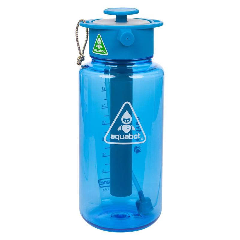 Bouteille à haute pression Aquabot de 1000 ml Bleu/Bleu