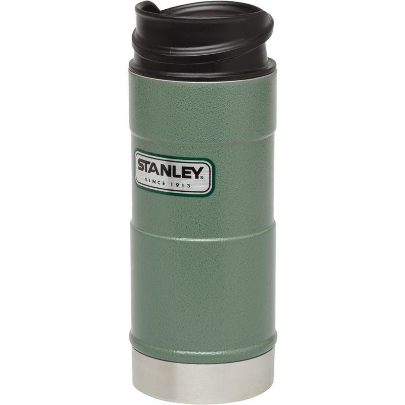 One Hand Vacuum Mug 354ml Hammertone Green