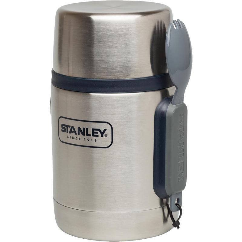 Pot isolant pour aliments avec fourchette Acier inoxydable