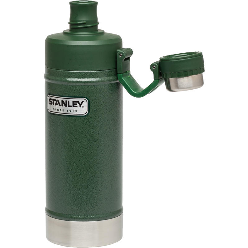 Vacuum Water Bottle 750ml Hammertone Conifer
