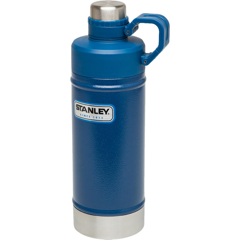 Vacuum Water Bottle 532ml Hammertone Cobalbt