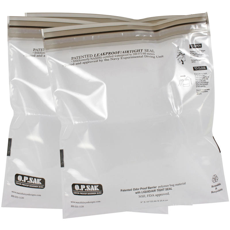OPSak Odour Proof Barrier Bags 3-Pack