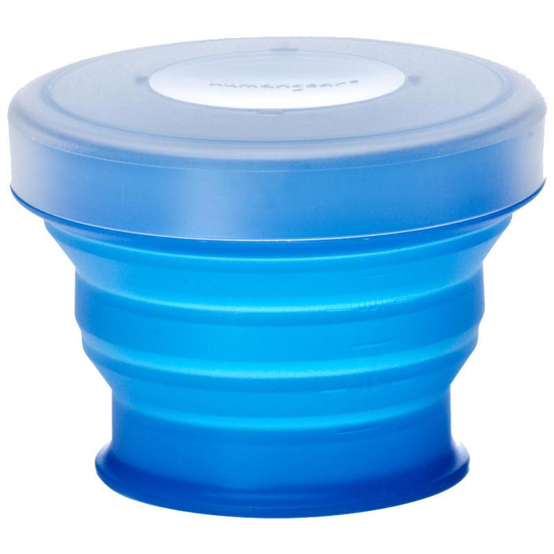 Contenant compressible GoCup Bleu