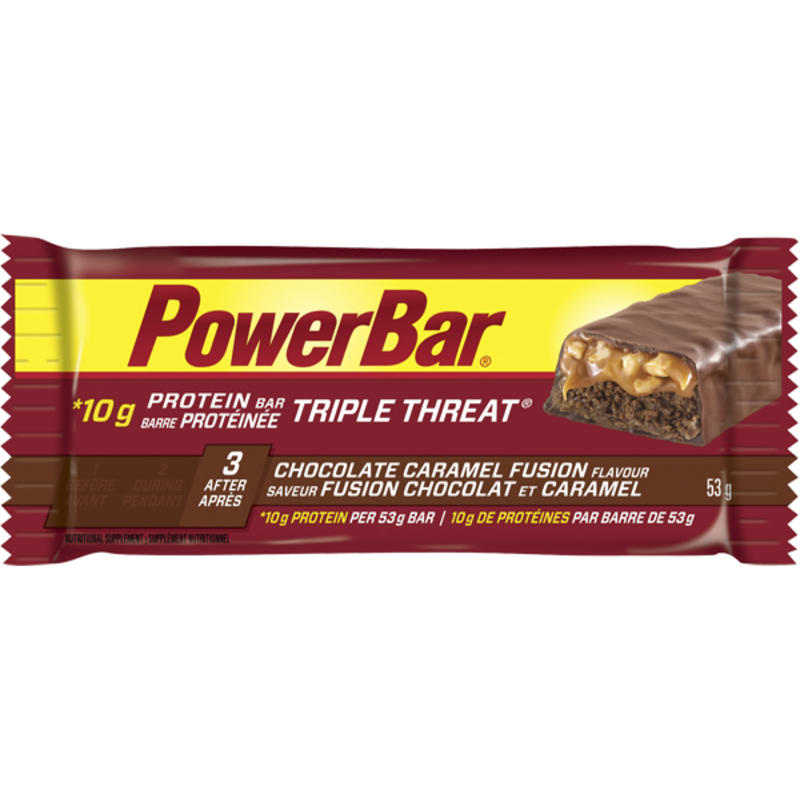 Triple Threat Chocolate Caramel Fusion Bar
