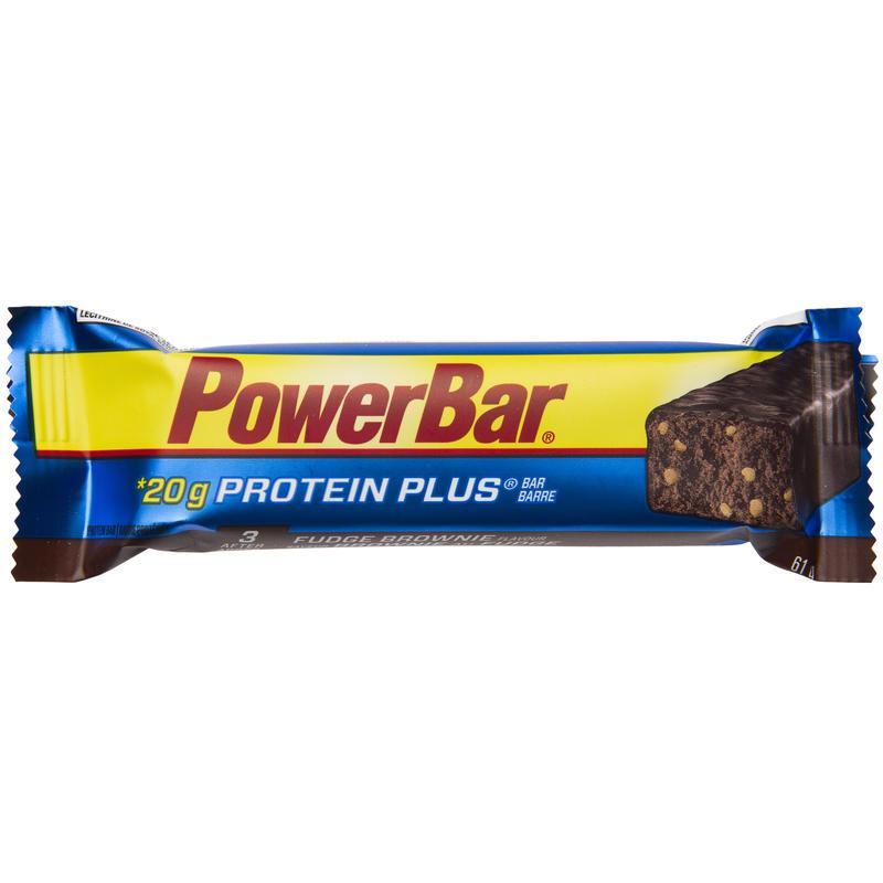 Barre énergétique Protein Plus brownie au chocolat