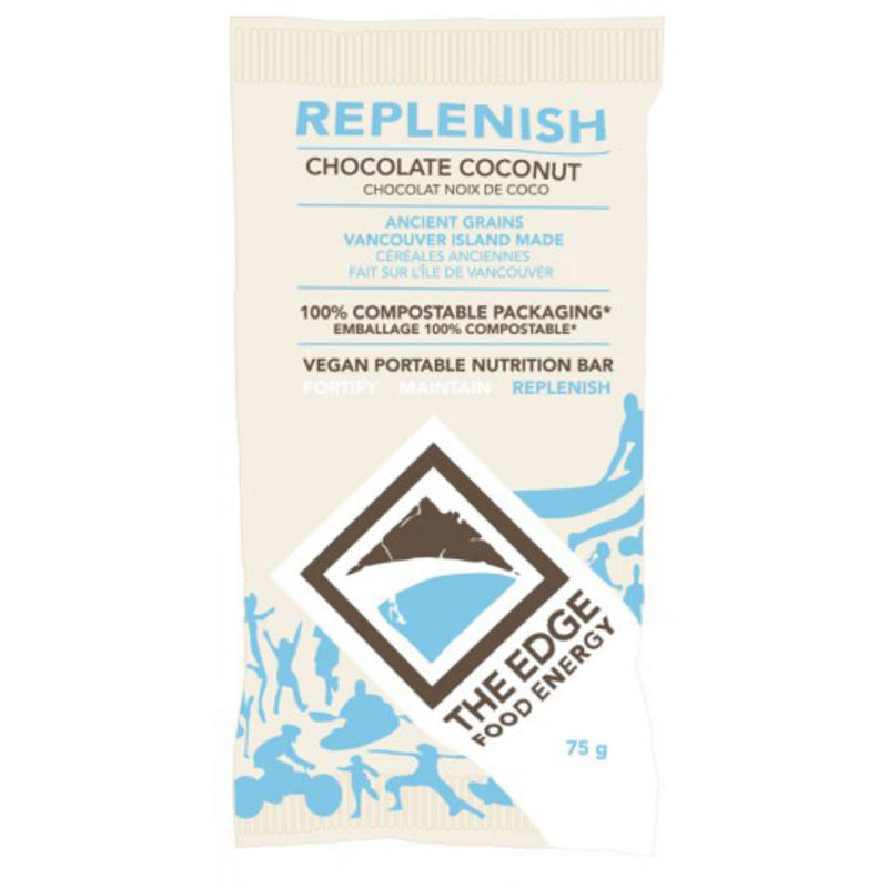 Barre Replenish au chocolat et noix de coco