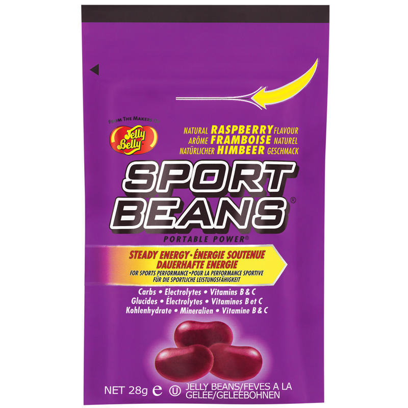 Bonbons énergétiques Sport Beans aux framboises