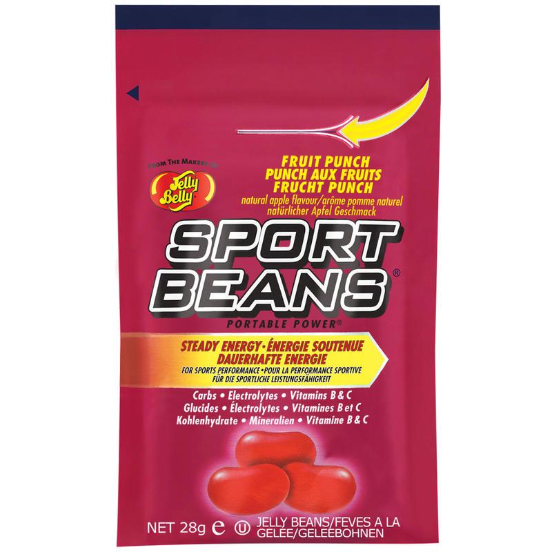 Bonbons énergétiques Sport Beans-Punch aux fruits