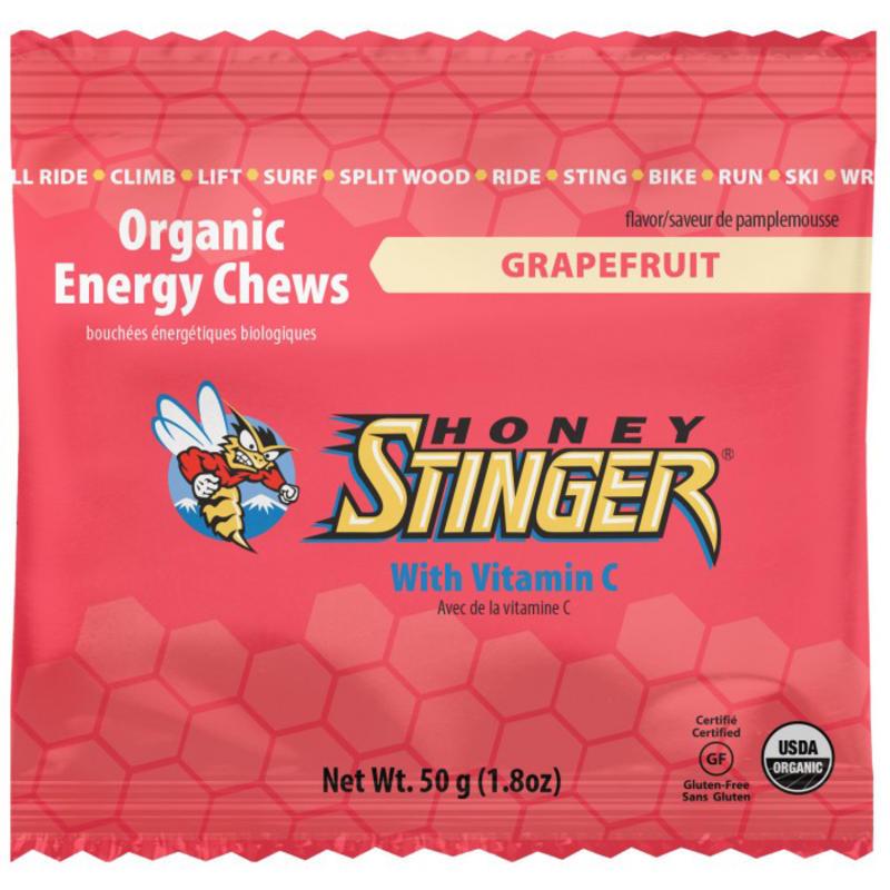 Bonbons énergétiques biologiques au pamplemousse