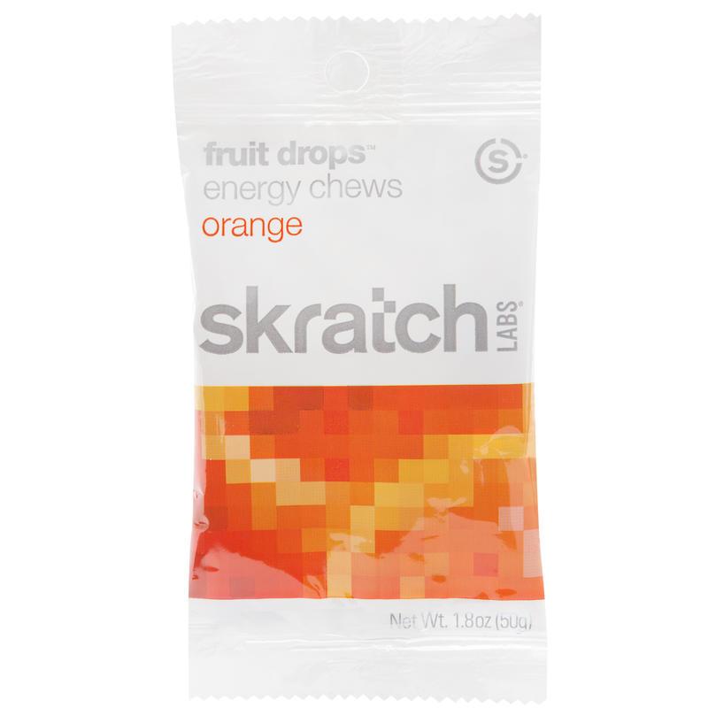 Jujubes énergétiques Fruit Drops - saveur d