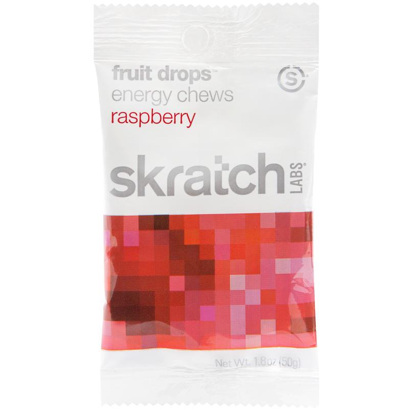 Jujubes énergétiques Fruit Drops-saveur framboise